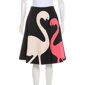 Kate Spade Flamingo Skirt